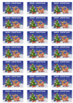 Christmas Scene Stickers - 21 per sheet